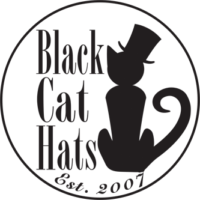 black-cat-hats Logo